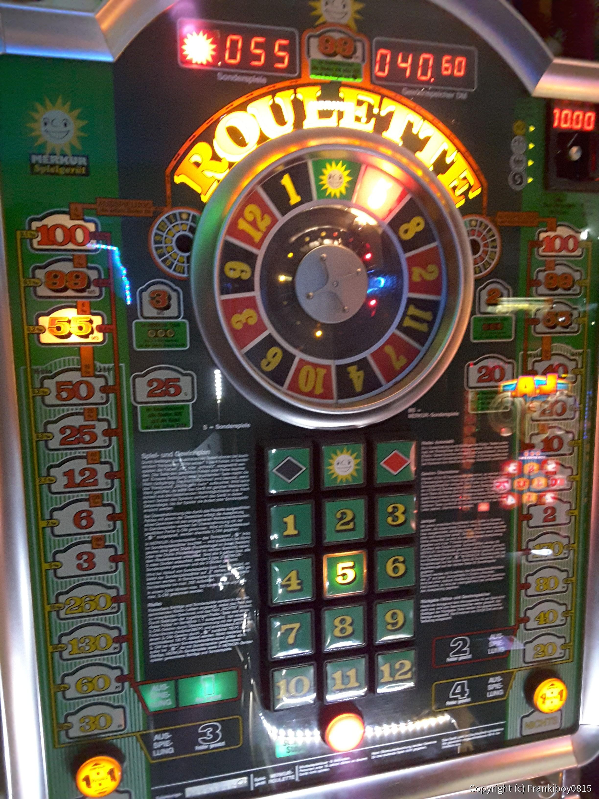 Merkur Spielautomat Fehlermeldung
