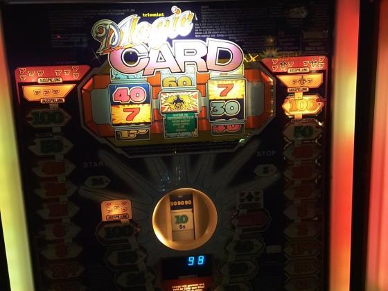 Magic Card mit  7 Joker 7 Ausspielung und erfreuliches Ergebnis