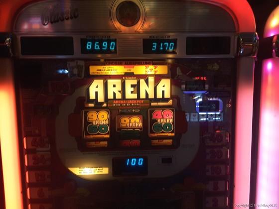 Arena Jackpot Auslösung