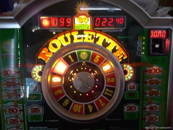 Hauptgewinn am am Merkur Roulette 99 MS